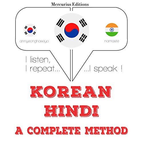 Korean – Hindi. A complete method cover art
