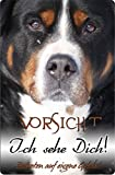 Nanyuk +++ Großer Schweizer Sennenhund - Metall Warnschild Schild Hundeschild Sign - GSS 01 T5
