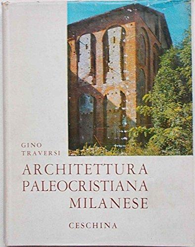 Architettura paleocristiana milanese.