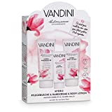 VANDINI Hydro Wellness Geschenkset Frauen - Wellness Set mit Body Lotion, Duschgel & Handcreme -...