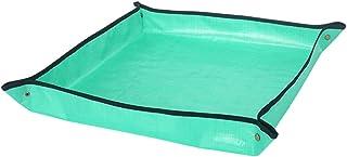 F Fityle PE Coating Planting Operation Mat 100 * 100cm Gardening Supplies Cushion Balcony Flower Pot Pad Waterproof Pad Ca...