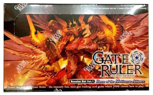 Gate Ruler TCG Volumen 1: Dawn of The Multiverse Alliance Booster Box - 36 paquetes