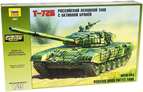 Zvezda 500783551 - Panzer - 1:35 T-72 w/ERA