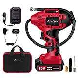 Avid Power Tire Inflator Air Compressor, 20V Cordless Car...
