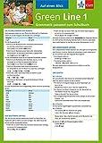 Green Line 1 - Auf einen Blick: Grammatik passend zum Schulbuch - Klappkarte (6 Seiten) - Sabine Schlimm