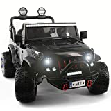2020 Two (2) Seater Ride On Kids Car Truck w/ Remote Control | Large 12V Power Battery Licensed Kid...