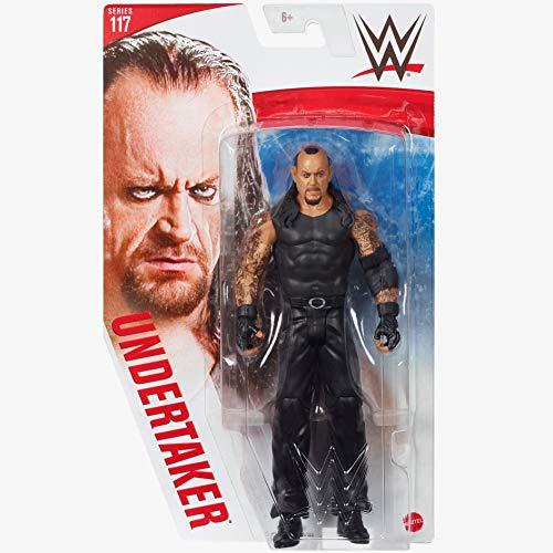 WWE - Serie 117 - Undertaker - Actionfigur, bringen Sie die Action der WWE nach Hause - Ca. 6