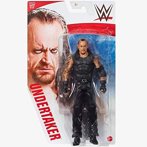 WWE - Series 117 - UNDERTAKER - Action Figure, bring home the action of the WWE - Approx 6'