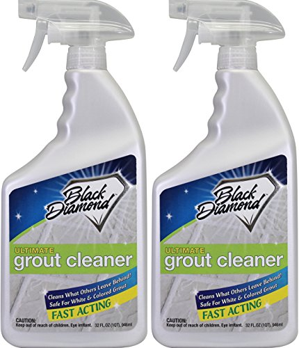 ULTIMATE GROUT CLEANER: Best Cleaner for Tile,Ceramic,Porcelain, Marble Acid-free Safe Deep Cleaner & Stain Remover for Even the Dirtiest Grout. (2-Quarts)