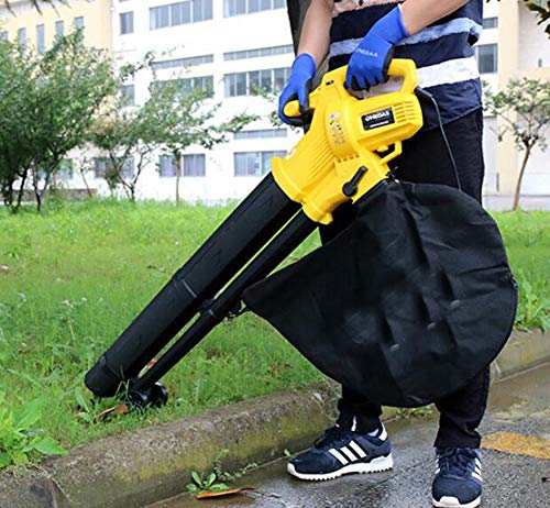 Find Bargain YYSDH Leaf Shredder 3 in 1 Leaf Blower 3000W Garden Vacuum & Mulcher - 35 Litre Collect...