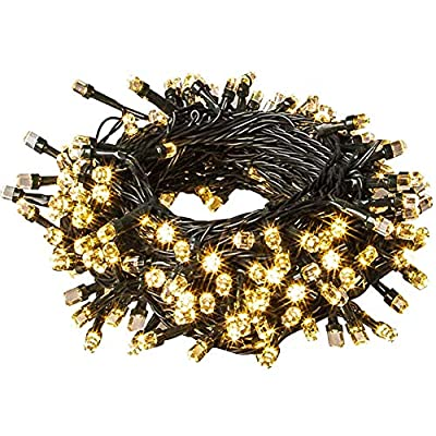 Outdoor String Lights 2021 Upgraded 82 FT 200 LED UL Safe Certified Weatherproof 9 Modes Fairy Twinkle Lights for Indoor/Outdoor Backyard ?Party ?Garden, Patio, Wedding, Valentine's Day Decor