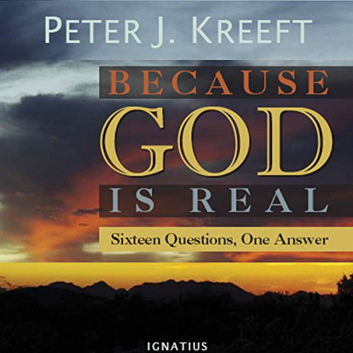Because God Is Real audiobook cover art