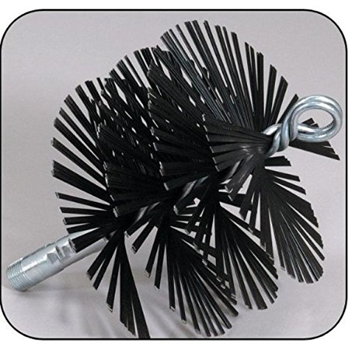 Save %25 Now! Rutland MSFT-1212 12 in. X 12 in. Square Master Sweep Flat Wire Brush Head With Tlc To...