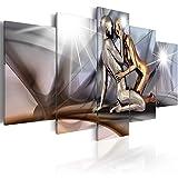 BD XXL murando Impression sur Toile intissee 200x100 cm 5 Pieces Tableau Tableaux Decoration Murale Photo Image Artistique...