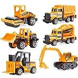 GXT Modelo de coche de juguete de niño de aleación tire hacia atrás coche inercia juguete coche, aleación bebé juguete coche modelo conjunto 0-2-3 años de edad rompecabezas
