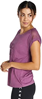 Rockwear Activewear Women's Logo Front Tee Orchid 12 from Size 4-18 for T-Shirt Tops