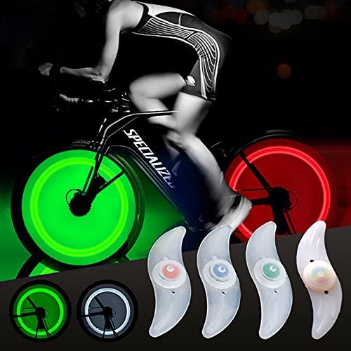 otutun LED Fahrrad Rad Lichter, 8 Stück Speichenlichter Wasserdicht LED Fahrrad Speichenlicht für Fahrradspeichen, Fahrrad Radlichter Fahrradräder beleuchten für MTB-Radreifen
