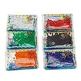 AKORD 24 Bolsas de Perlas de Agua, decoración para Bodas y jarrones, Multicolor, 28.2 x 11 x 1 cm