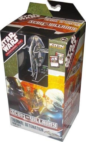 Star Wars Scum & Villainy Thermal Detonation Theme Deck - Mazo de bolsillo