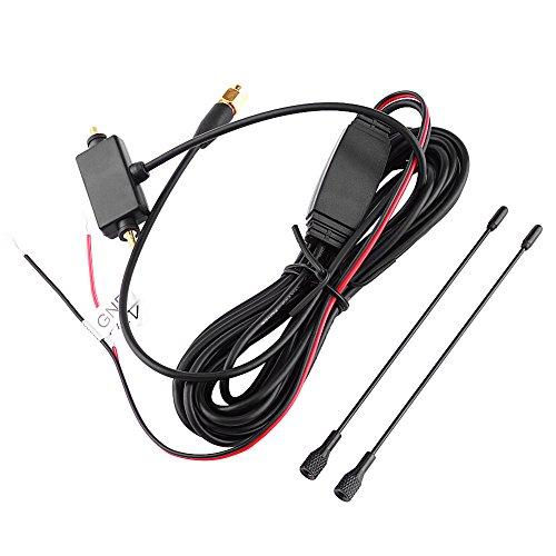 Antenne de Digital SMA TV, Keenso Antenne de SMA de Voiture avec l'Amplificateur Intégré pour le Signal Fort de Réception de Digital TV