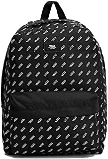 Retro Logo Old Skool III Backpack Black and White