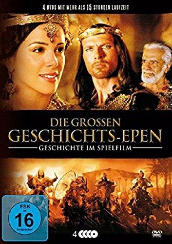 Die großen Geschichts-Epen - Geschichte im Spielfilm [4 DVDs]