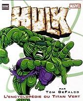 Encyclopédie Hulk de DEFALCO