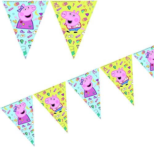 Peppa Pig 0787, Banderin cumpleaños, Fiestas y cumpleaños