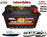12V 75ah Leisure Battery ULTRA 80 85 DEEP CYCLE Leisure maintenance free
