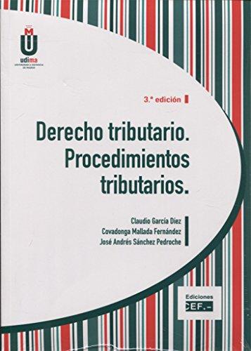 DERECHO TRIBUTARIO. PROCEDIMIENTOS TRIBUTARIOS