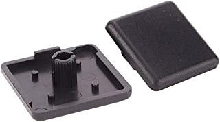 Boeray Plastic ABS Accessories End Cap Black for Aluminum Extrusion with Profile 3030 30x30mm 40pcs