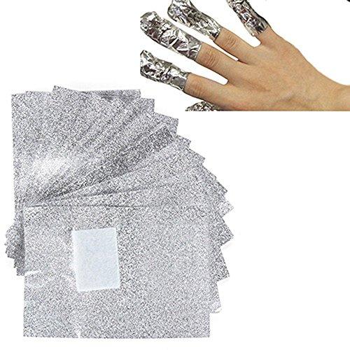 Lámina quitaesmalte uñas empujador cutículas, 100