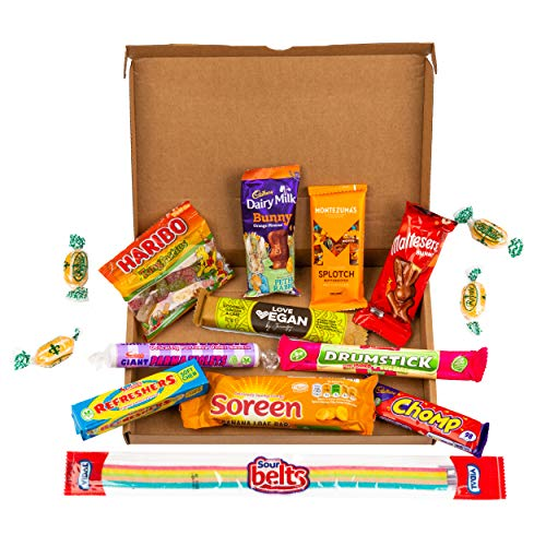 Skinny Treat Box - Mini Low Calorie Hamper, Gift Basket, Snack Box - Low Calorie Treats to Support Your Healthy Life Style