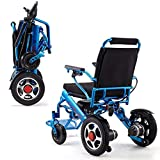 Electric Wheelchair,Modern Safety Design Four-Wheeled Light Folding Carry Durable Electric Wheelchairs Disabled Elderly