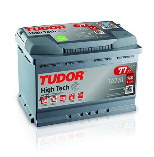 Batería para coche Tudor Exide HIGH-TECH 77Ah, 12V