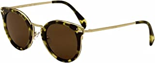 8c6b8fa541f Celine Women s 41373 Green Tortoise   Gold Frame Brown Lens Metal Plastic  Sunglasses