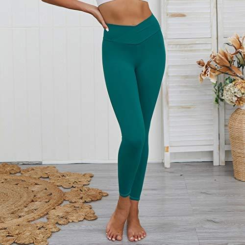 Tenue de Sport Spun Cotton Slim Nu Sweatpants Zys (Couleur : Green, Size : L)
