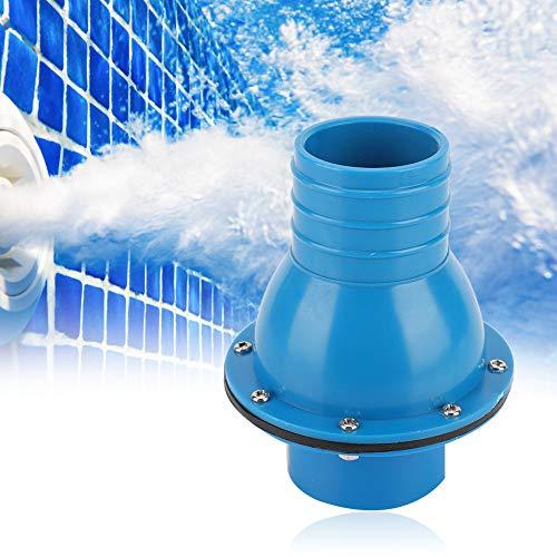 Pool-Rückschlagventil Blau Robustes, langlebiges, hochzuverlässiges Rückschlagventil für Schwimmbäder