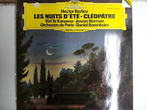 BERLIOZ, Hector: Les Nuits d'ete, op.7; Cleopatre -- Deutsche Grammophon (1982) Printed in Germany --Te Kanawa, Norman, Orchestre de Paris, Barenboim D. (cond)DGG 2532047