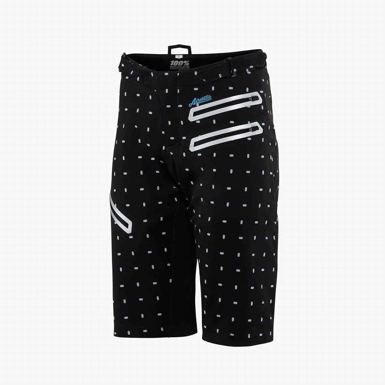 100 Percent Black 2017 Airmatic Skylar Womens MTB Shorts