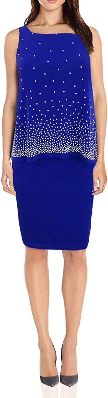Jessica Howard Women's Popover Sheath Dress