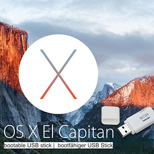 OS X 10.11 El Capitan auf original 8GB Toshiba TransMemory USB-Boot-Stick Install / Recovery