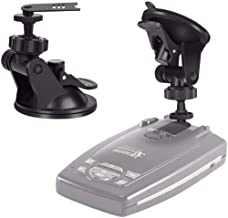 MvToe Windshield & Dashboard Radar Detector Suction Cup Mount Holder for Escort Passport 9500ix 9500i 8500 7500 X50 X70 X80 Solo SC S2 S3 S4 s75 Beltronics RX65 GX65 Red (Not for Escort IX & MAX Serie
