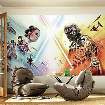 RoomMates RMK11457M Star Wars The Rise Of Skywalker Peel and Stick Wallpaper Mural - 10.5 ft x 6 ft.