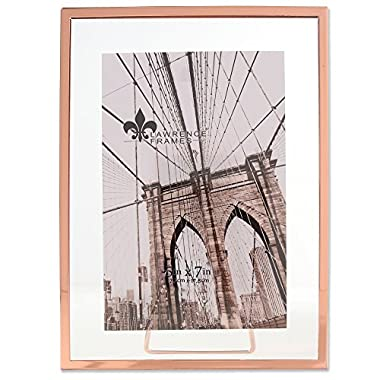 Lawrence Frames Garett Metal Float, 5x7, Copper