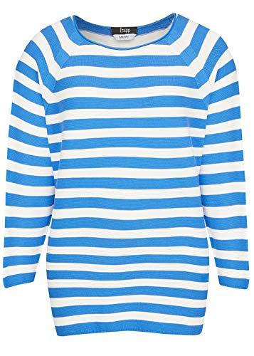 Frapp Damen Moderner Pullover mit Streifen