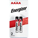 Energizer AAAA Batteries, 1.5V Alkaline AAAA Battery (2 Pack)
