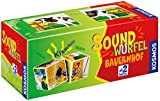 KOSMOS 697365 - Soundwürfel Bauernhof, Lernspielzeug mit Geräuschen, für Kinder ab...