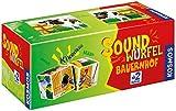 Kosmos 697365 soundwürfel bauernhof kinderspiel
