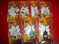 一番くじ ワンパンマン またワンパンマンで終わっちまった D賞 ラバーストラップ 全7種セット